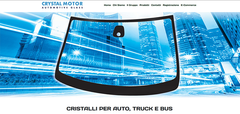 Crystal Motor s.r.l. - Corporate WebSite