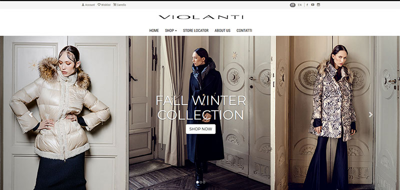 Violanti - E-Commerce B2C