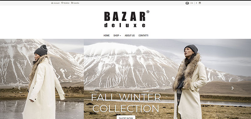 Bazar Deluxe - E-Commerce B2C