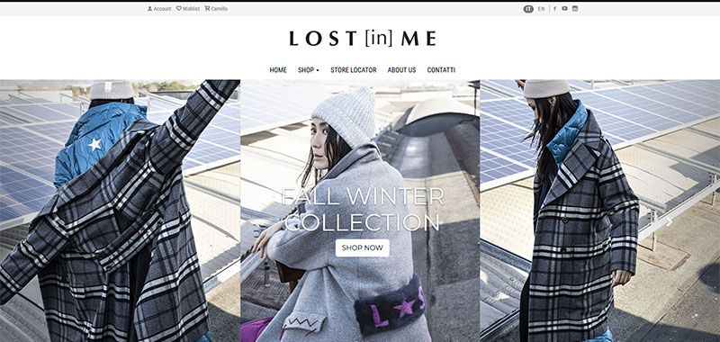 Lost In Me - E-Commerce B2C