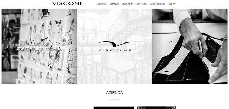 Visconf S.r.l. - Corporate WebSite
