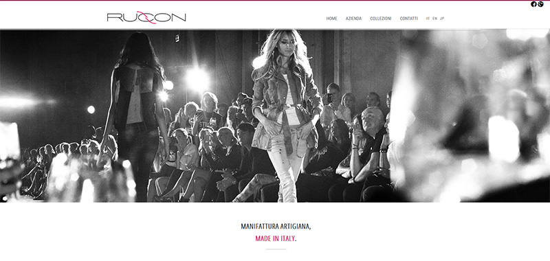 Rucon s.r.l. - Coroporate WebSite